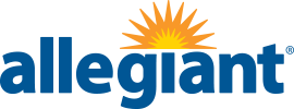 Allegiant - operates from Rickenbacker International Airport