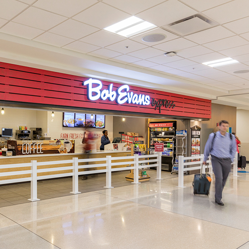 Restaurants Shopping Options At John Glenn Columbus International