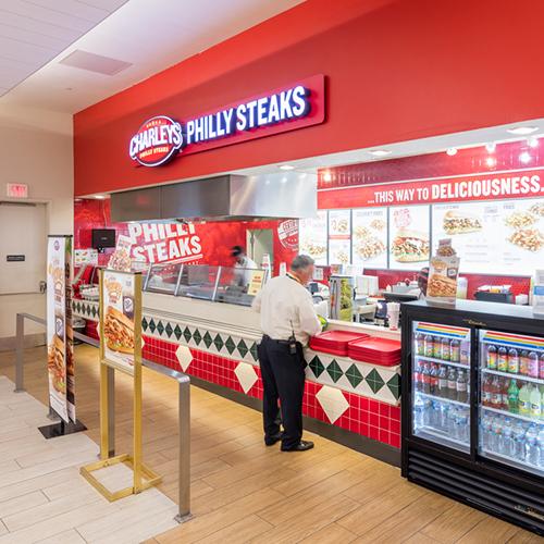Restaurants & Shopping Options at John Glenn Columbus